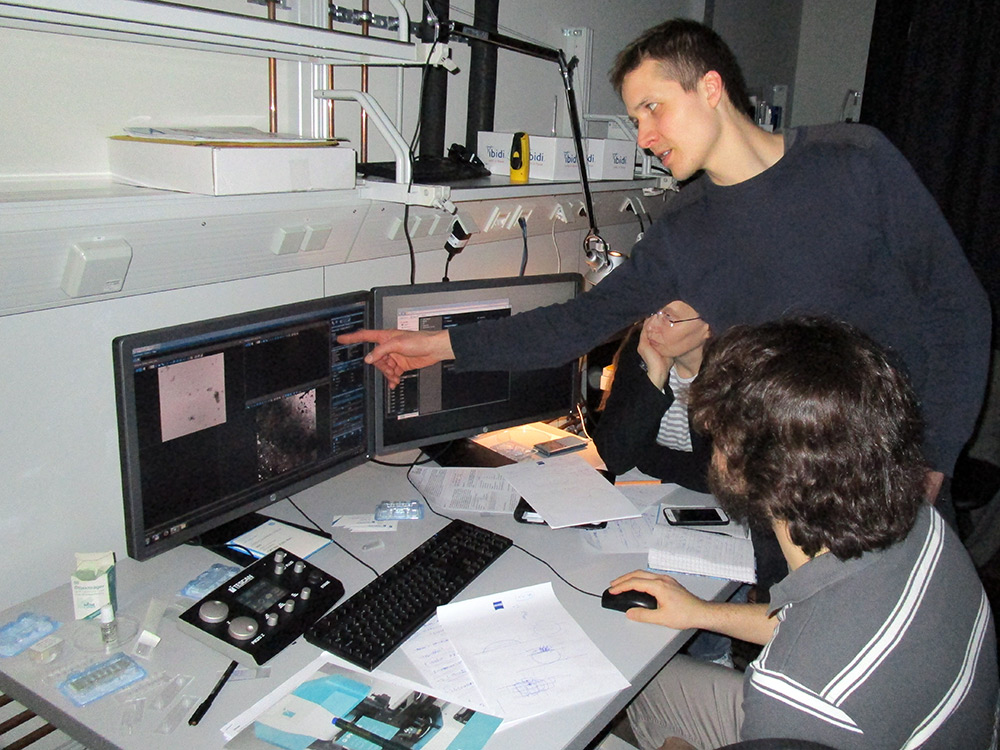 Workshop with TESCAN Q-PHASE specialists in Dresden