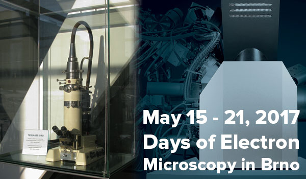 Days of Electron Microscopy in Brno
