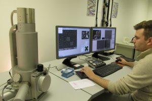 Agar SEM in use: The TESCAN VEGA3 SBH SEM, installed and fully operational at Agar headquarters