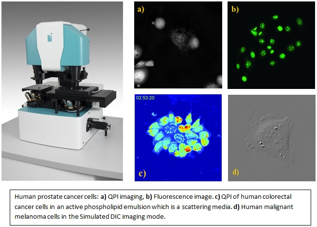 Multimodal Holographic Microscope - Q-PHASE