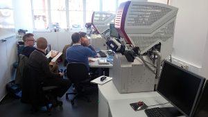 TESCAN LYRA Focussed Ion Beam/Scanning Electron Microscope (FIB/SEM) at Curtin University in Perth